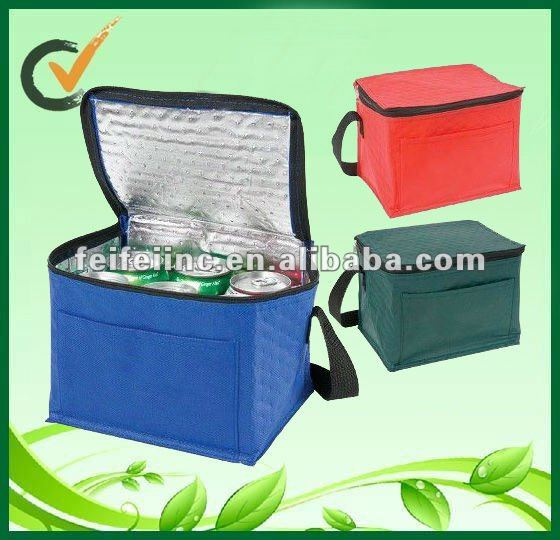 2013 hot sale Non-woven cooler bag with Zipper closure