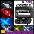 H31 Channels Sound Activated Control Dj Equipment Infinite Rotation Led 16*15W 4In1 Led Moving Head Light