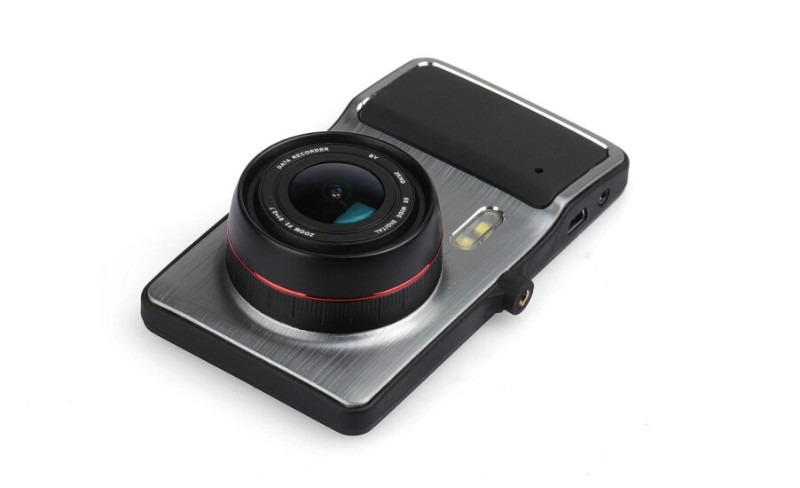 New Model 4.0 inch Big HD Screen Twin Lens Car Camera Full HD 1080P Car Camera H.264 Dash Camera