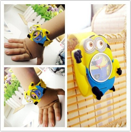 Very cute Silicone Watch Colorful Jelly Slap Watch kids slap watch