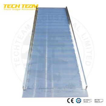 Used Portable Aluminum Ramp Box Tuck Ramp