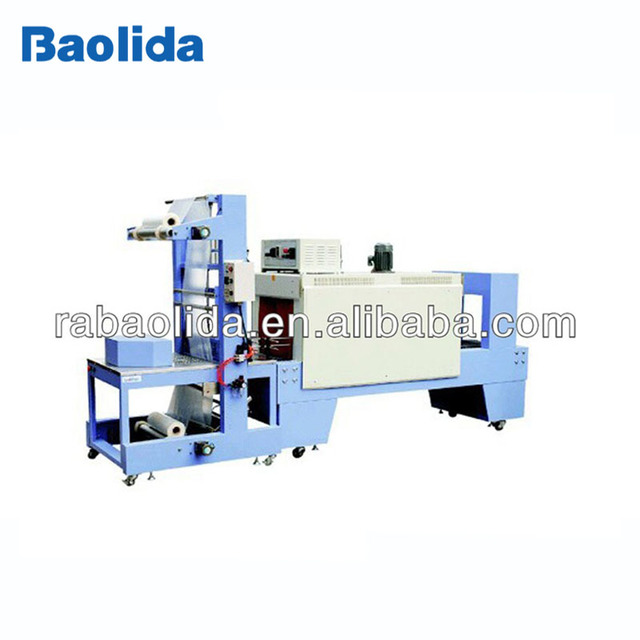 ST-6040 Auto bottle neck thermal Sleeve shrink wrapping packing machine