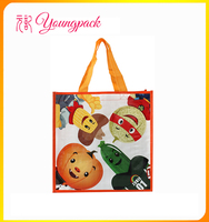 customize high quality woven bag with lamination for shopping