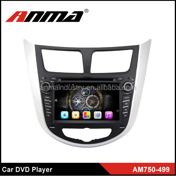 ANMA high quality 7 inch touch screen Car DVD Player for Hyundai