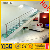 Price of mild steel railing for staircase with low price