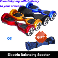 Warehouse in the USA 6.5 inch Free Shipping 2 wheel powered unicycle mobility scooter