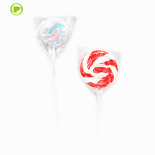 fruity taste and multi-colored Wave sweet Lollipop candy