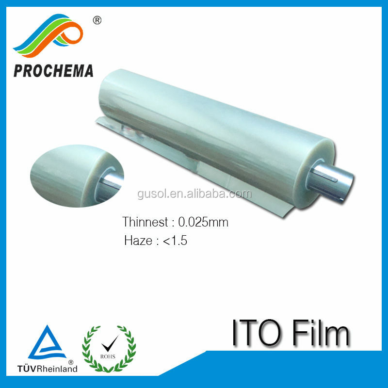 10 years factory price window shielding ito coated pet film