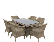 hot sale outdoor rattan furniture dinning sets