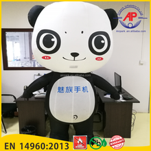 Airpark Inflatable Canton Fair 2016 Hot Sale Advertising Inflatables Cartoon Model Panda
