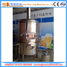 Full argon arc welding micro beer brewery equipment 2bbl beer brewery equipment