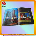 Color High quality paper brochure printing