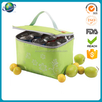 picnic cooler bag Insulated pvc water proof cool bag 6 bottle beer promotion bag beverage cooler