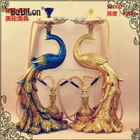 Exclusive Exquisite and Elegant Beautiful Peacock Shape Large Size Hookah Shisha for Wholesale