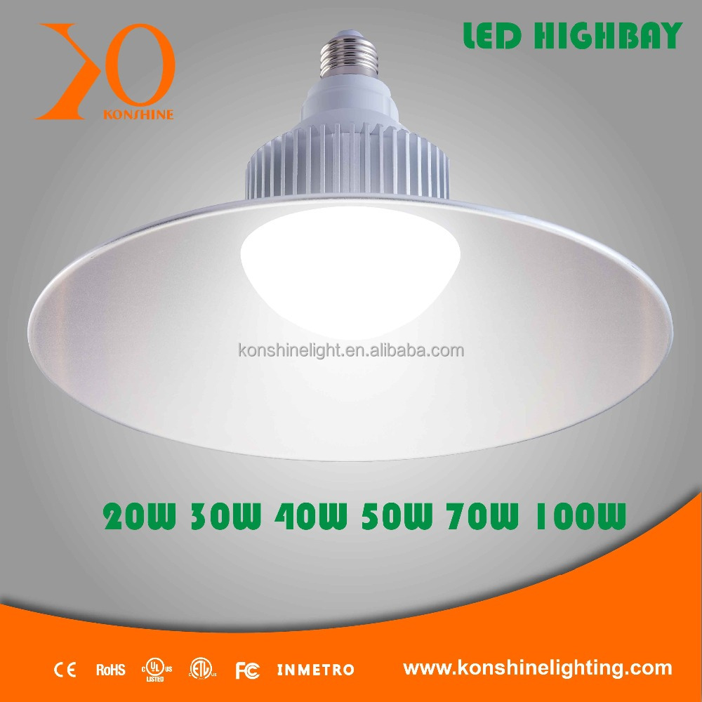 Low price high quality e27 20w led high bay light
