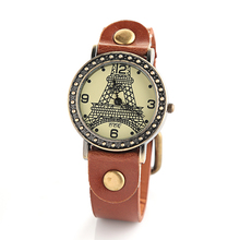 2014 fashion Vintage Bracelet Tower Watch