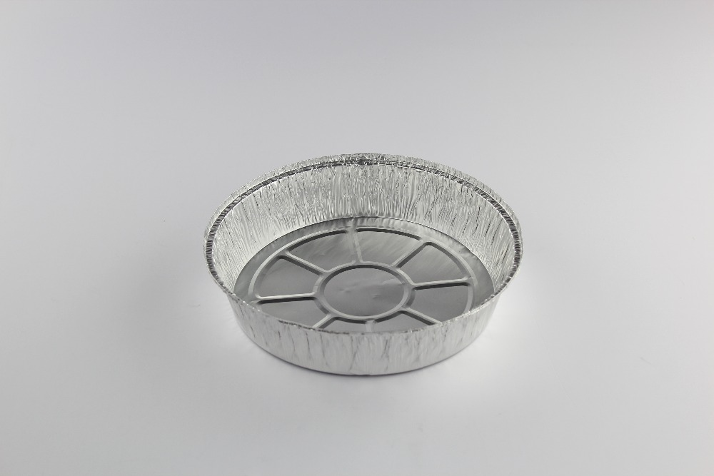 "hot selling and Chinese manufacture r 9"" round aluminum pie /food foil pan"