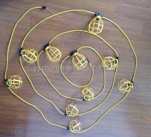 UL\CE Heavy Cable Temporary Construction Two\Three Wires String Lights