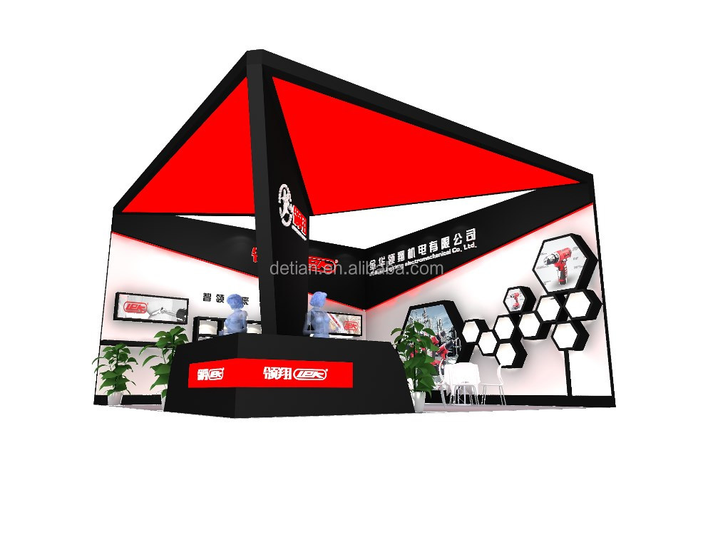 Convenient wooden trade show stand from exhibition equipment factory in China