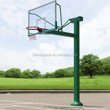 High quality low price outdoor pole basketball stand