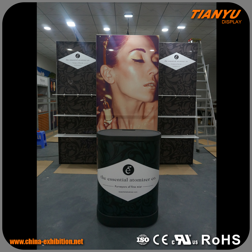 Exhibition payment wall mounted kiosk mall