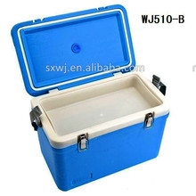 WJ510 8L 12L with digital thermometer display plastic cooler ice box