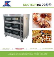 Industrial Bakery Equipment/High Quality Electric Bread Baking Pizza Oven