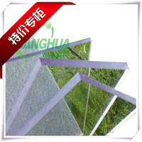 factory direct wholeslae with cheap virgin bayer and lexan polycarbonate transparent plastic roofing