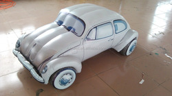 Custom make inflatable car model, inflatable replica car balloon toy