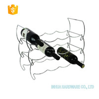 Three Tiers Chrome Plating 12 Bottles Metal Wine Bottle Holder