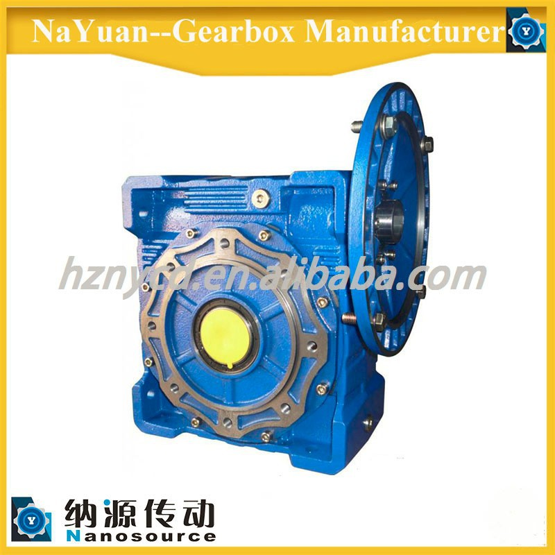 Cast iron housing bronze worm wheel cycloidal gearbox for sugar