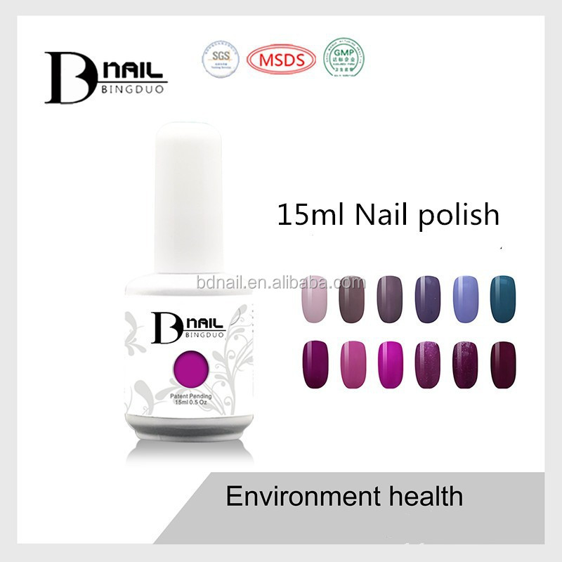 Guangzhou BD offer private lable nail polish
