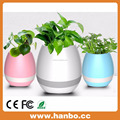 Illuminated smart music bluetooth flowerpot