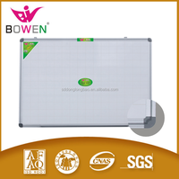 High quality MDF LDF foam white board magnetic whiteboard with grid lines BW-V4