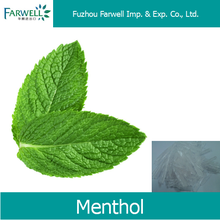 Farwell high quality natural Menthol 2216-51-5