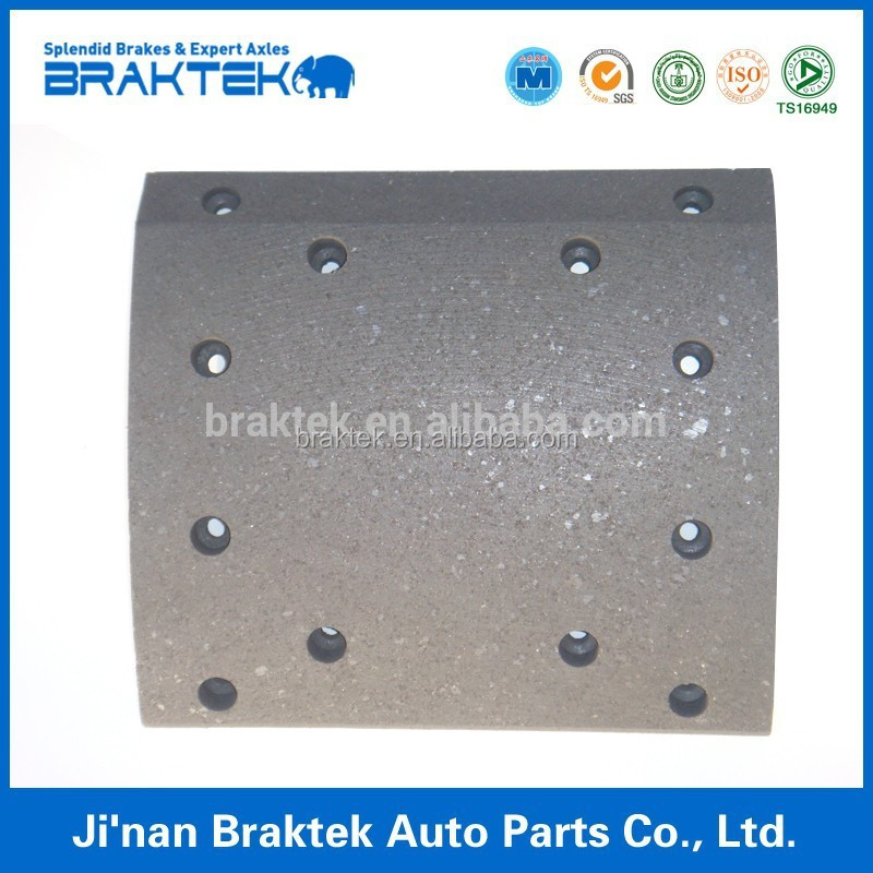 brake linings of New Hino used for semi-trailer
