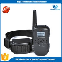 Good 300 Meter Control Range Waterproof Led Dog Collar 998Dr Remote Control Dog Training Collar