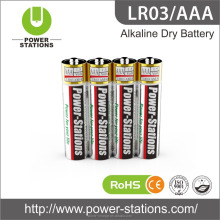 Alkaline Dry Battery LR03/AAA 1.5V Battery Hot Selling