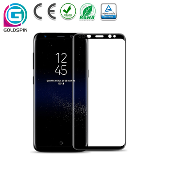 3D Full Coverage S8 Tempered Glass for Samsung Galaxy s8 plus Screen Protector