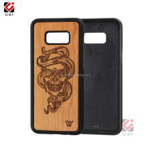 Custom Designs High Quality wood mobile phone Case / Promotion cellphone cover