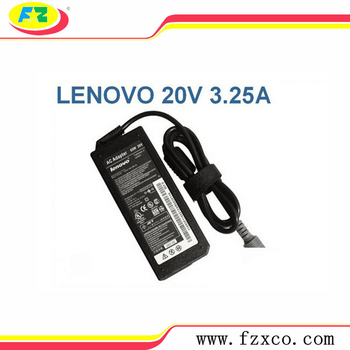 20V 3.25A 65W Laptop Ac Adapter Charger For Lenovo