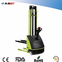 Rubber Wheel High Lift Hydraulic Hand Pallet Truck