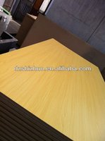 wood construction plate/ Melamine MDF/mdf waterproof