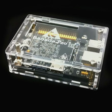 Official PPMA clear banana PI case with screw