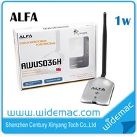 Alfa 150mbps high power 11n usb wifi network lan card/Decoder/Booster