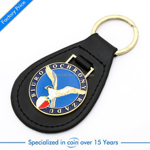 High quality promotion gift leather keychain