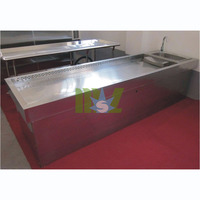 Stainless steel autopsy table MSLMT01