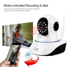 pnp smart home video monitoring buit in pir sensor and wireless ip camera