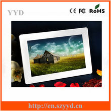 High Resolution 10.1inch Ultra thin Digital Photo Frame,Electric Digital Picture Frame with Video Loop