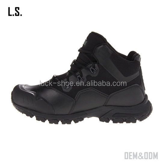 Sale mens black military shoes low cut anti-slip climbing shoes outdoor skid resistance army boots